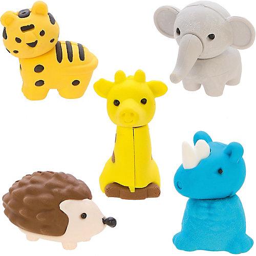 """Комплект ластиков Color Puppy """"Животные"""", 5 шт от Color Puppy"""