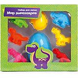 """Набор для лепки из теста Color Puppy """"Мир динозавров"""", с аксессуарами"""