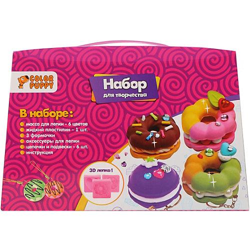 """Масса для лепки Color Puppy """"Пирожные"""" от Color Puppy"""
