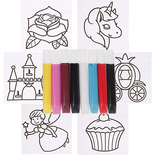 """Витражные краски Color Puppy """"Принцессы"""" от Color Puppy"""