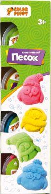 Кинетический песок Color Puppy  с формочками