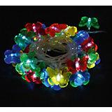 Электрогирлянда  Волшебная страна, Бабочки, LED-BT-36-3.6-MC,светодиодная