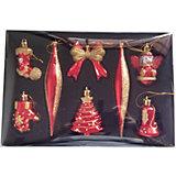 Набор новогодних украшений Волшебная страна, HD1508-5129S03