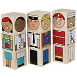 "Кубики Краснокамская игрушка ""Профессии"""