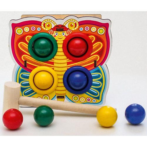 """Игрушка Woodland """"Стучалка цветная: Бабочка"""" от Woodland"""