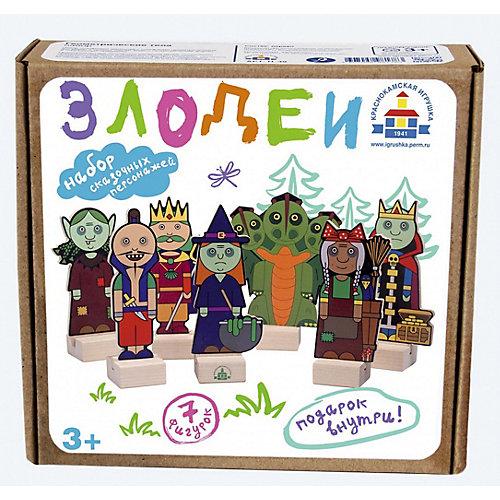 """Набор для кукольного театра Краснокамская игрушка """"Злодеи"""" от Краснокамская игрушка"""
