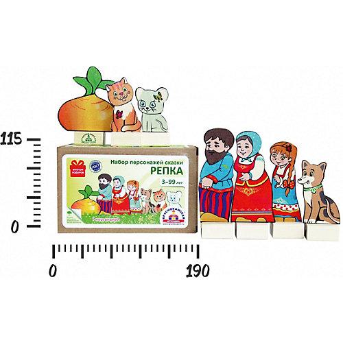 """Набор для кукольного театра Краснокамская игрушка """"Персонажи сказки Репка"""" от Краснокамская игрушка"""