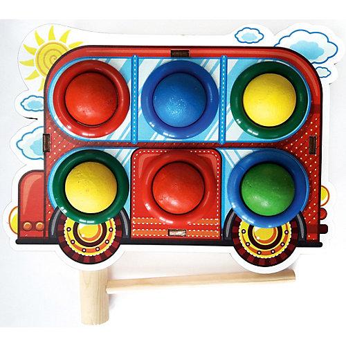 """Игрушка Woodland """"Стучалка цветная: Автобус"""" от Woodland"""