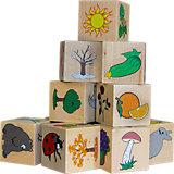"""Кубики Краснокамская игрушка """"Окружающий мир"""""""