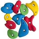 Зацепы скалодромные Kett-UP, цветные,  10шт