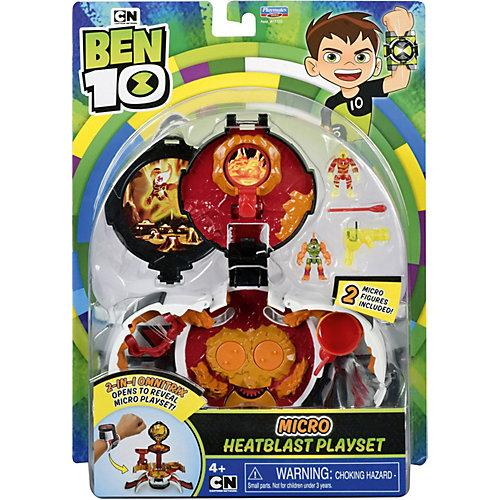 """Игровой набор Playmates Ben 10 """"Микромир. Человек-огонь"""" от PLAYMATES"""