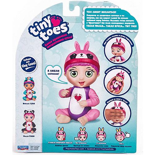 Интерактивная игрушка Playmates Tiny Toes Зайка от PLAYMATES