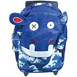 Рюкзак-чемодан Deglingos Hippipos L'Hippo синий