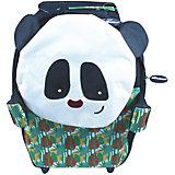 Чемодан Deglingos Rototos Le Panda черный