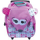 Рюкзак-чемодан Deglingos Coquelicos La Souris розовый