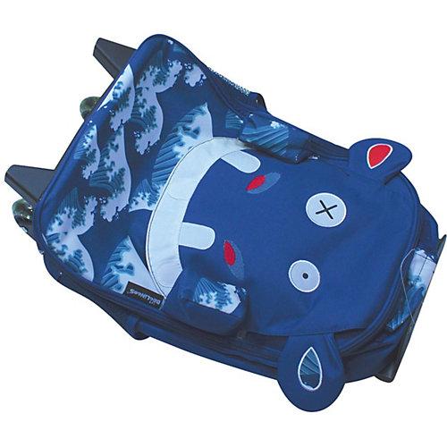 Чемодан Deglingos Hippipos L'Hippo синий - atlantikblau от DEGLINGOS