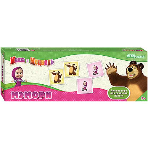 Мэмори Step Puzzle Маша и Медведь от Степ Пазл
