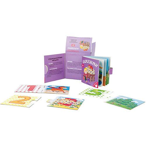 """Развивающий набор Step Puzzle """"Книжка + игра"""" Скороговорки от Степ Пазл"""