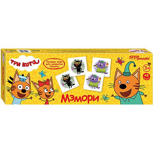 Мэмори Step Puzzle Три кота от Степ Пазл