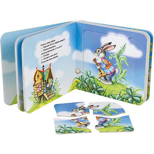 """Книжка-игрушка Step Puzzle Baby Step """"Любимые герои"""" Теремок от Степ Пазл"""
