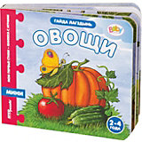 """Книжка-игрушка Step Puzzle Baby Step """"Мои первые стихи"""" Овощи"""