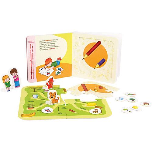 "Книжка-игрушка Step Puzzle ""Мир вокруг нас"" Сравнилки от Степ Пазл"