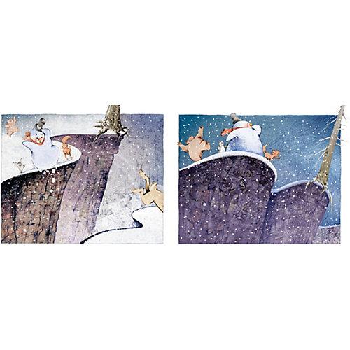 """Книжка-картинки """"Сказки Снеговика"""", Хилленбренд У. от Clever"""