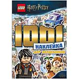 """Книжка с наклейками LEGO Harry Potter """"Мир волшебников"""", 1001 наклейка"""