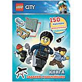 Книжка с наклейками LEGO City
