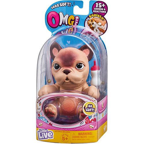 """Игровой набор Moose OMG Pets! """"Cквиши-щенок: Французский бульдог"""" от Moose"""