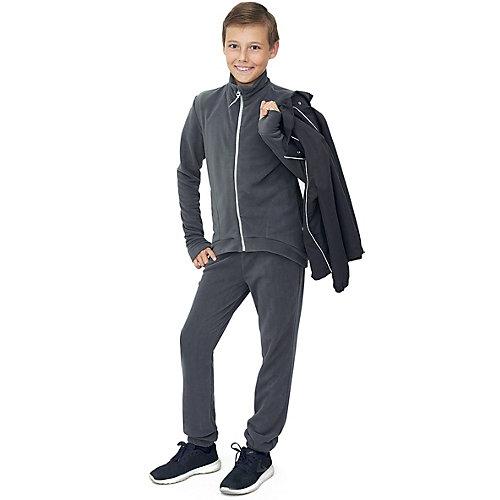Комплект Микита: кофта и брюки - темно-серый от Микита