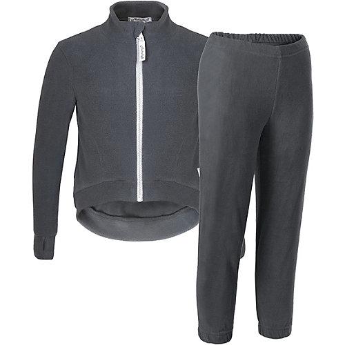 Комплект Микита: кофта и брюки - темно-серый