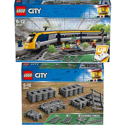 Bundle LEGO City: 60197 Personenzug + 60205 Schienen