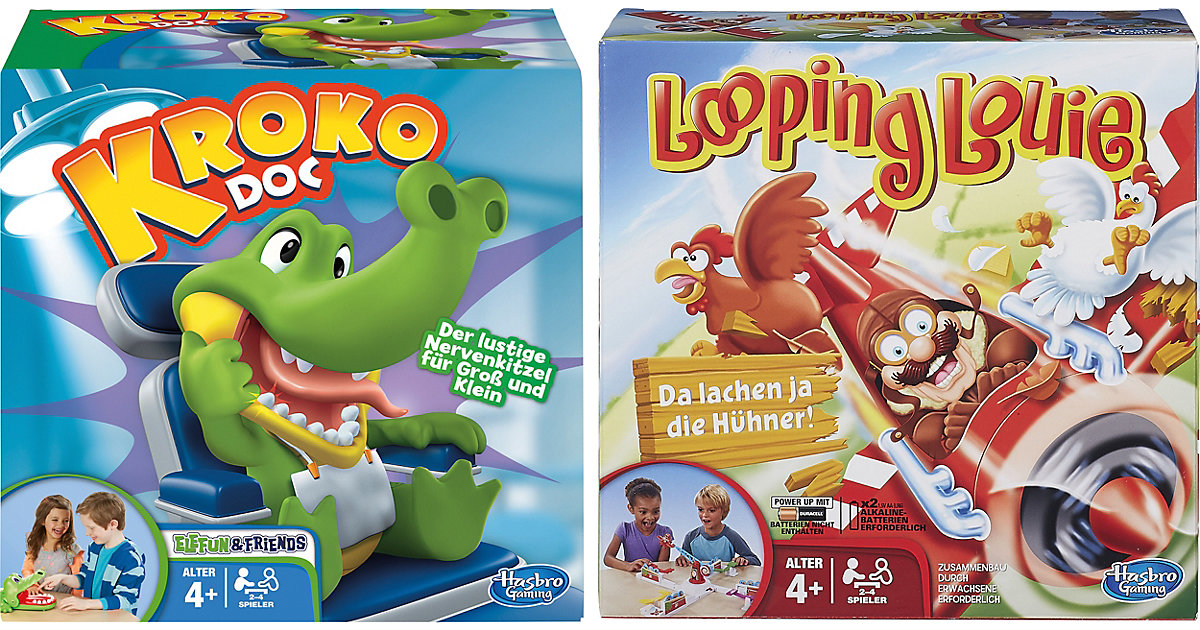 Image of Aktionsspiel-Bundle: Looping Louie + Kroko Doc