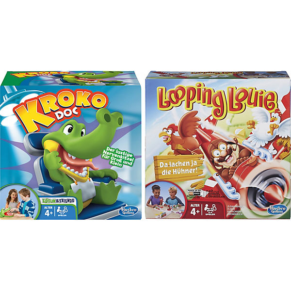 Aktionsspiel-Bundle: Looping Louie +  Kroko Doc