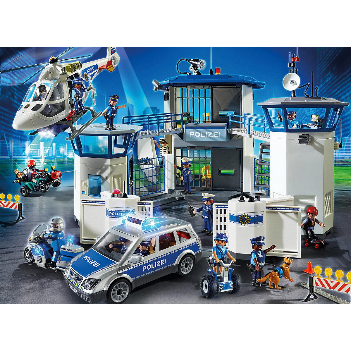 bundle playmobil® city action 6874 polizeihelikopter mit