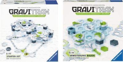 Bundle GraviTrax: Starterset + Erweiterung Bauen, GraviTrax