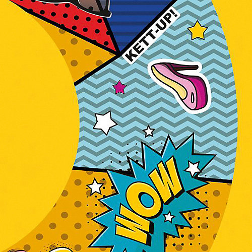 """Тюбинг Kett-up """"Поп арт"""" - разноцветный от Kett-Up"""