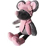 Мягкая игрушка Softoy Мышь в шапке 26 см