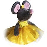 Мягкая игрушка Softoy Мышь в короне 26 см