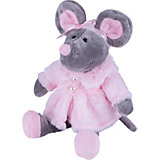 Мягкая игрушка Softoy Мышь в шубе 26 см
