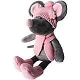 Мягкая игрушка Softoy Мышь в шапке 36 см