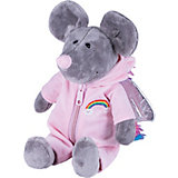 Мягкая игрушка Softoy Мышь в костюме единорога 26 см