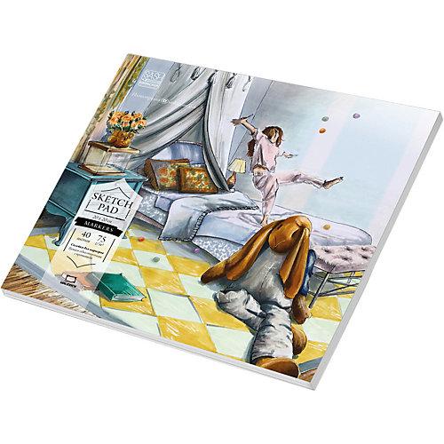 Альбом-склейка Малевичъ Sketch для маркеров, 20х20 см от Малевичъ
