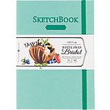 Скетчбук Малевичъ Bristol Touch для графики и маркеров, мятный