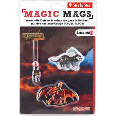 Schleich 183810 MAGIC MAGS Schleich Eldrador® Lava Dragon, 3-tlg.