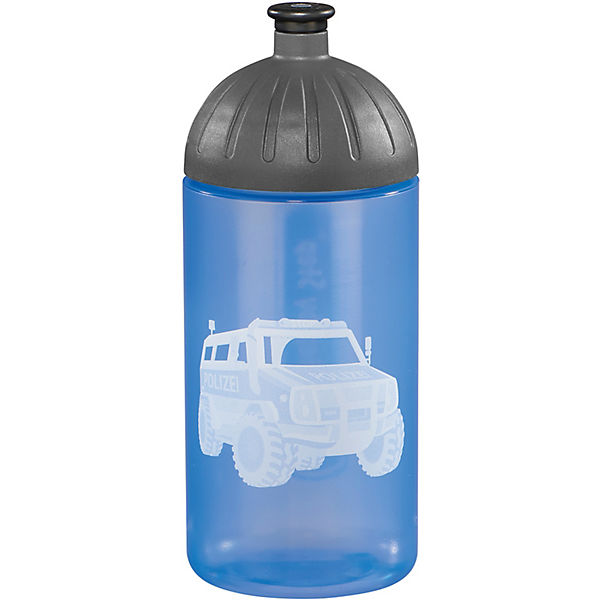 Trinkflasche City Cops blau, 500 ml