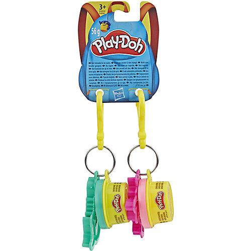 """Игровой набор Play-Doh """"Баночка и штамп"""" Брелок русалка и единорог от Hasbro"""
