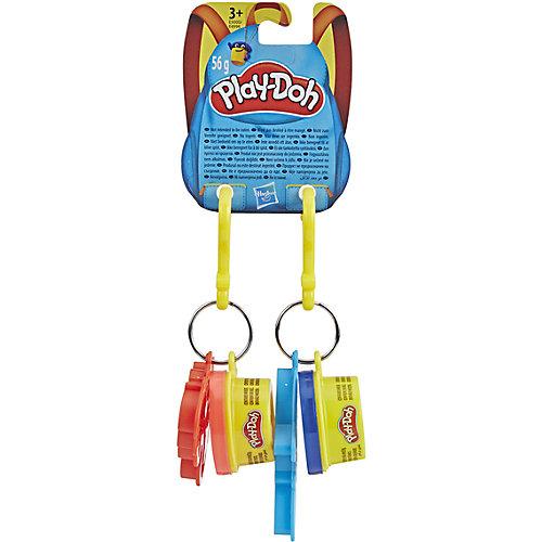 "Игровой набор Play-Doh ""Баночка и штамп"" Брелок дракон и акула от Hasbro"