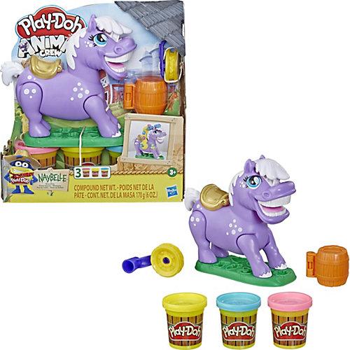"""Игровой набор Play-Doh """"Пони-трюкач"""", Нейбелль от Hasbro"""